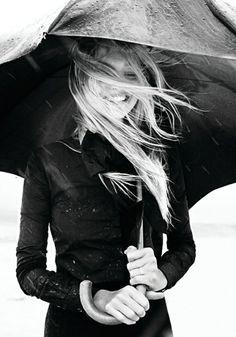 Gemma Ward for Vogue Italia, November 2007, Photograph by Greg Kadel