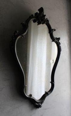 Miroir baroque / les couleurs de brocantine