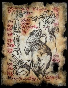 Hyperborean Demonology by MrZarono.deviantart.com on @deviantART