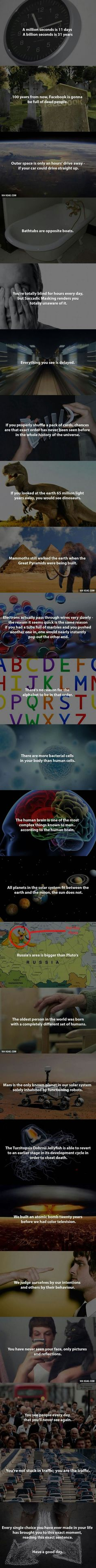 Mind-blowing facts you don't know - 9GAG