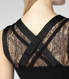 Womens Tilia Dress (Black)