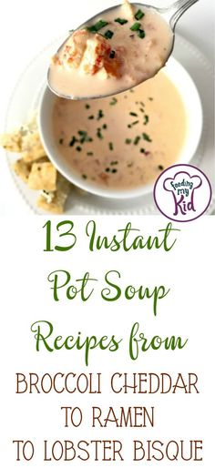 Make dinner easier with an instant pot! These instant pot soup recipes are super simple and delicious. You'll love these easy ideas.