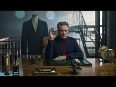 MADE FROM COOL [] On the button [] CM [2013] 40s [] from PREMIUM by JACK n' JONES ft #ChristopherWalken []