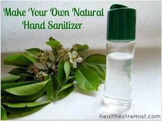 Natural Hand Sanitizer  ​INGREDIENTS  - 8 Tablespoons Aloe Vera Gel  - 16 Drops of Tea Tree Oil   - 10 Drops of Lavender Essential Oil   - Optional: Add a few drops of other essential oils such  as thyme, lemon, or orange  Instructions: 1. Mix all ingredients in a dish 2. Pour into a spray bottle or squirt bottle to use on the go 3. Shake before applying *This recipe makes a small batch, just the right size for a  small container to carry on the go.