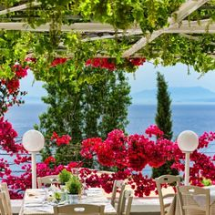 """Indulge in fine Greek and Mediterranean cuisine"" Atrium Hotel Skiathos, Fine Dining, Natural Stones, Greek, To Go, Beach, Nature, Plants, Wedding"
