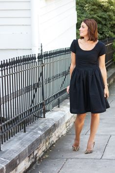 Little Black Dress- One Little Minute Blog