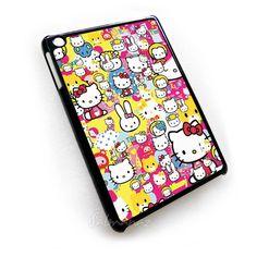 Hello Kitty Stickerbomb ipad mini Case, Hello Kitty