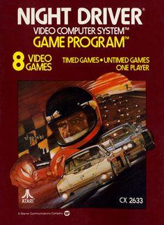 Box art by Steve Hendricks, 1978, Atari.