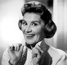Rose Marie, sure, but really Sally Rogers is an inspiration. I wanted to work in that Rob/Buddy/Sally office when I was a kid.
