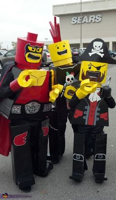 Lego Men Costumes for Kids