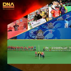 Hockey at it's best at the #HIL Match Entertainment.