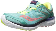 Saucony Women's Grid Velocity Road Running Shoe, Aqua/Navy/Citron, 10 B US - Road running and training shoe  - http://ehowsuperstore.com/bestbrandsales/shoes/saucony-womens-grid-velocity-road-running-shoe-aquanavycitron-10-b-us