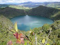 Laguna del Cachique Guatavita - Bogota -- CoCa just barely missed it. ¡Jairo!
