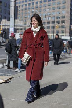 Elle's Maria Duenas Jacobs. Photo: Emily Malan/Fashionista