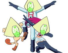 I can't believe peridot has been team rocket all this time.