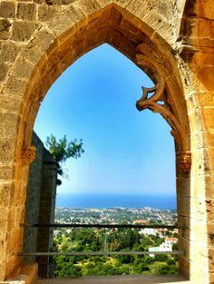 Cyprus Windows (Bellpais Abbey)