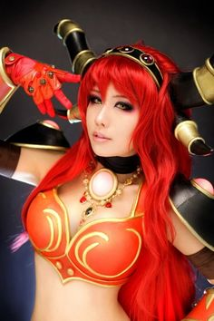 ☆ #CosplayStyle☆ Alexstrasza from World of Warcraft: Mists of Pandaria -  Cosplayer: Tasha (spiral cats)