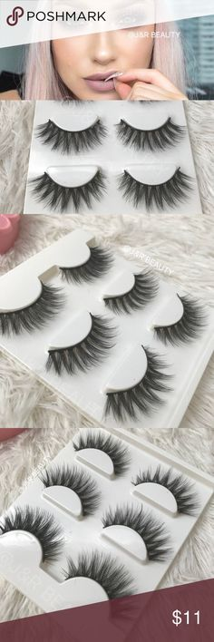 Mink eyelashes 3 Pairs +$2 Add on eyelash Applicator  +$3 Add on eyelash glue Please message me if you want to add them.    ✅ Bundle &  Save  # tags Iconic, mink, red cherry eyelashes, house of lashes, doll, kawaii, case, full, natural,  Koko, Ardell, wispies, Demi , makeup, Iconic, mink, red cherry eyelashes, house of lashes, doll, kawaii, case, full, natural,  Koko, Ardell, wispies, Demi , makeup, mascara, eyelash applicator, Mykonos Mink , Lashes , wispy ,eyelash case, mink lashes  Ship…
