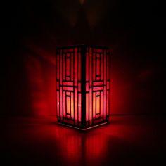 Red vase ArtDeco