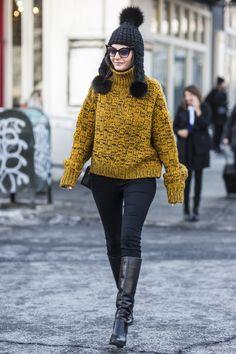 Giovanna Battaglia | embracing winter