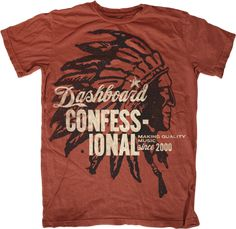 Dashboard Confessional t-shirt, Jeremy Paul Beasley