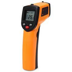 GM320 Non Contact Laser IR Infrared Thermometer Digital Temperature Gun Tester