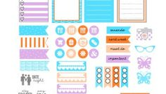 Almost Spring Planner Stickers - Free Printable