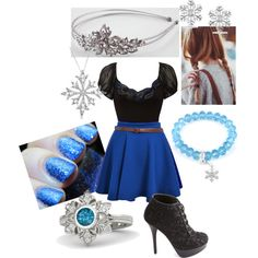 Designer Clothes, Shoes & Bags for Women Frozen Inspired Outfits, Disney Inspired Fashion, Character Inspired Outfits, Disney Fashion, Disney Princess Outfits, Disney World Outfits, Disney Themed Outfits, Disney Dresses, Girls Fashion Clothes