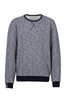 recolution organic fair trade Sweater Knut Männer grau heavy Pullover