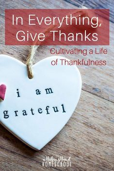 We are told to give thanks in all things, but how can we really be thankful when life hits hard?find out how!