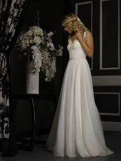 Robert Bullock Birdie Dress Size 10 Lace/English - Ivory Regular Price: $2,050.00 SAMPLE SALE: $1,025.00