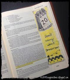 Matthew 7 in journaling Bible Beautiful Word Bible, Bible Love, My Bible, Bible Art, Matthew Bible, Book Of Matthew, Matthew 6, Scripture Journal, Art Journaling