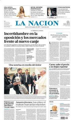 21 de agosto - La Nación - Semáforo amarillo para la oposición
