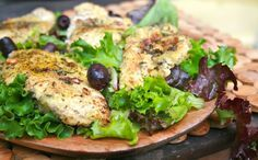 Herb Crusted Chicken (for Hungry, Important People). Such a crowd pleaser.