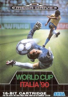 Apparently not as good as Sensible Soccer but I loved it. Part of my original set.