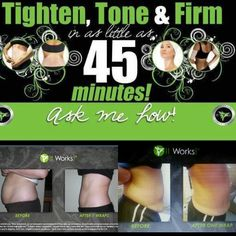 The #itworksglobal products are #amazing #lifechanging check out my website! www.facebook.com/wrapswithmaggie 865.712.0868