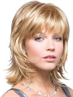 New+Arrival+Short+Layered+Straight+Capless+Synthetic+Wig+12+Inches