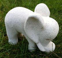 Cute little elephant.