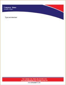 ms office letterhead templates