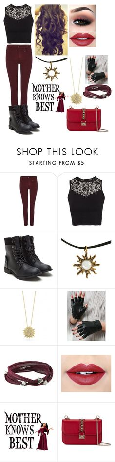 """""""Mary's Outfit #2"""" by animegirl694 ❤ liked on Polyvore featuring True Religion, NLY Trend, Hot Topic, Roberto Coin, King Baby Studio, Fiebiger, Disney and Valentino"""