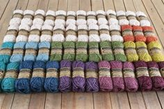 Sophie's Universe Main Pack in Scheepjes Stone Washed XL x - Wool Warehouse - Buy Yarn, Wool, Needles & Other Knitting Supplies Online! Small Blankets, Knitted Blankets, Crochet Videos, Crochet Toys, Yarn Inspiration, Knitting Supplies, Square Blanket, Yarn Colors, Knitting Yarn