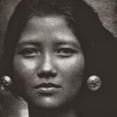 old-indische: West Java Girl