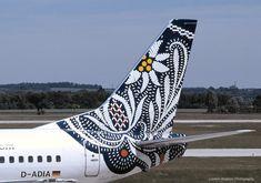 British Airways B737, Germany (Bavaria) World Art tailfin