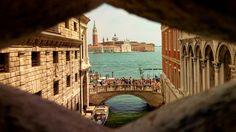 Giudecca from Ponte dei Sospiri Venice