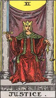 The origins of the Tarot are surrounded with myth and lore. The Tarot has been thought to come from places like India, Egypt, China and Morocco. Others say the Tarot was brought to us fr Major Arcana Cards, Tarot Major Arcana, Kansas City, Tarot Astrologico, Charles Fourier, Justice Tarot, Rider Waite Tarot Cards, Tarot Waite, Tarot Significado