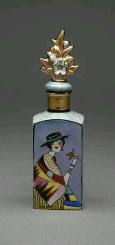christinerod:  noritake art scent bottle