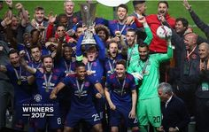 """Europa League Cup Champions """"Manchester United"""" has jumpes pass UEFA Champion's League Cup title retainers """"Real Madrid"""" as the world's most valuable football team, according to business magazine Forbes.   #Arsenal #Barcelona #Chelsea #Liverpool #Manchester City #Manchester United #Real Madrid #Sports"""