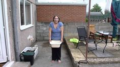 My video of her completing the ALS ice bucket after being nominated by my little sister Liz. Family Video, Bucket, Challenges, Ice, Videos, Outdoor Decor, Youtube, Ice Cream, Buckets