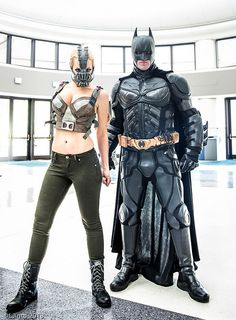 Saw them this year; they were fantastic!  Batman, The Dark Knight and Lady Bane at Megacon 2013 Day 1-10 | Flickr - Photo Sharing!