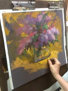 Aline Ordman Art pastels